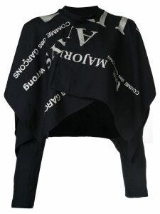 Comme Des Garçons Pre-Owned Conformity blazer - Black