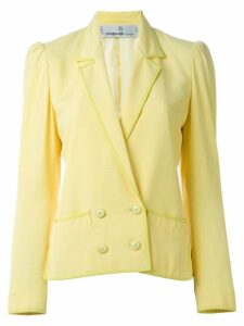 Jean Louis Scherrer Pre-Owned double breasted blazer - Yellow