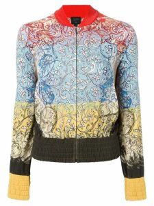 Jean Paul Gaultier Pre-Owned floral print bomber jacket - Multicolour