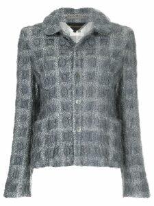 Comme Des Garçons Pre-Owned bouclé jacket - Grey