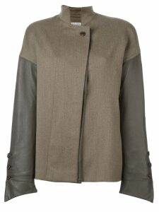 Gianfranco Ferré Pre-Owned panelled jacket - Brown
