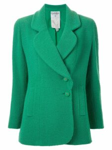 Chanel Pre-Owned classic double-breasted blazer - Green