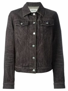 Helmut Lang Pre-Owned classic raw denim jacket - Grey
