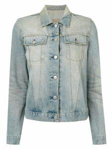 Helmut Lang Pre-Owned stonewashed denim jacket - Blue