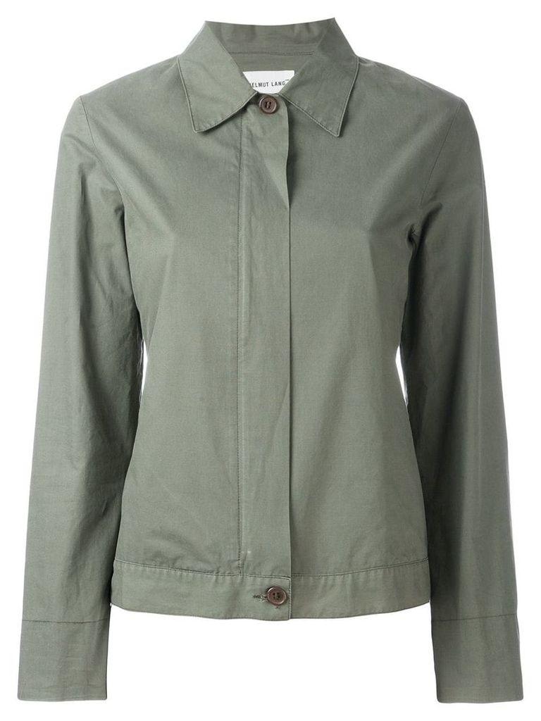 Helmut Lang Vintage zip up jacket - Green
