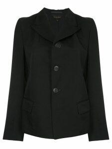 Comme Des Garçons Pre-Owned back slit blazer - Black