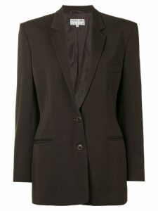 Helmut Lang Vintage single breasted blazer - Brown