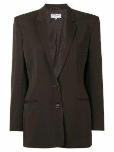 Helmut Lang Vintage single breasted blazer - Brown
