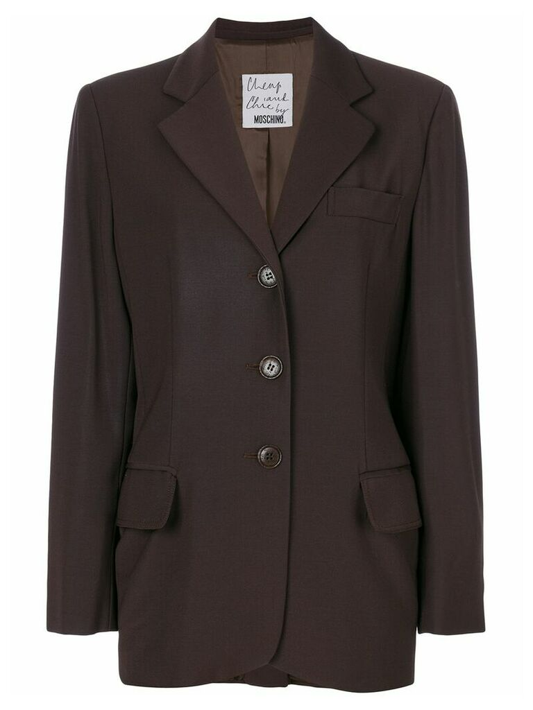 Moschino Vintage classic blazer - Brown