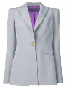 Emanuel Ungaro Pre-Owned peaked lapels blazer - Grey