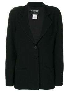 Chanel Pre-Owned two-button blazer - Black