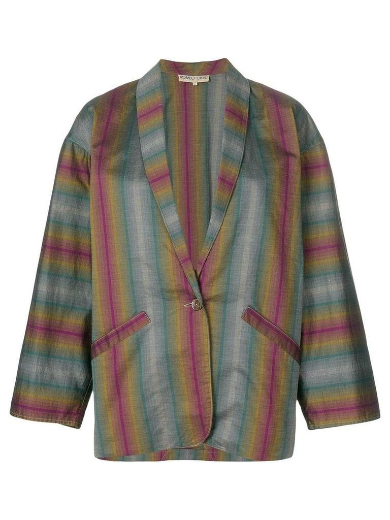 Romeo Gigli Vintage single breasted blazer - Multicolour