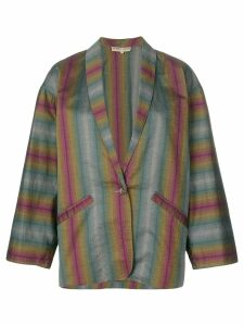 Romeo Gigli Pre-Owned single breasted blazer - Multicolour
