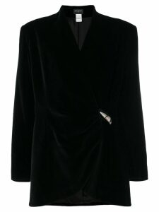 Paco Rabanne Pre-Owned wrap jacket - Black
