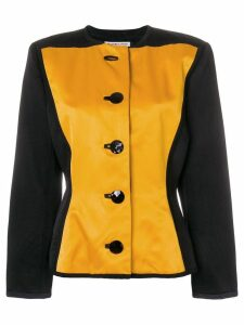 Yves Saint Laurent Pre-Owned boxy buttoned jacket - Yellow