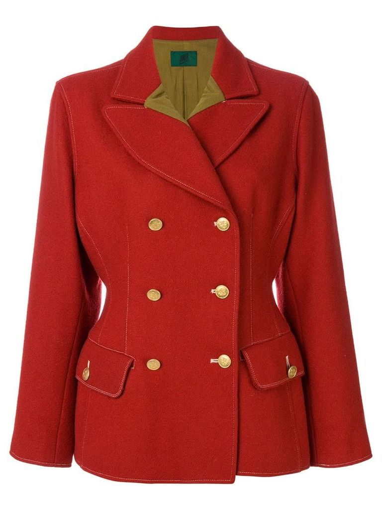 Jean Paul Gaultier Vintage structured fitted jacket