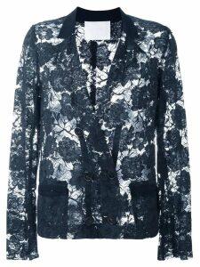 Lanvin Pre-Owned lace jacket - Blue