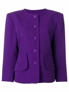 Yves Saint Laurent Pre-Owned single breasted jacket - Purple
