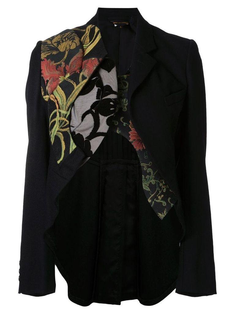 Comme Des Garçons Vintage deconstructed tailcoat - Black