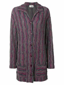 Missoni Pre-Owned patterned knitted jacket - Multicolour