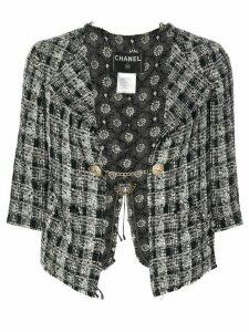 Chanel Pre-Owned 2007 tweed jacket - Black