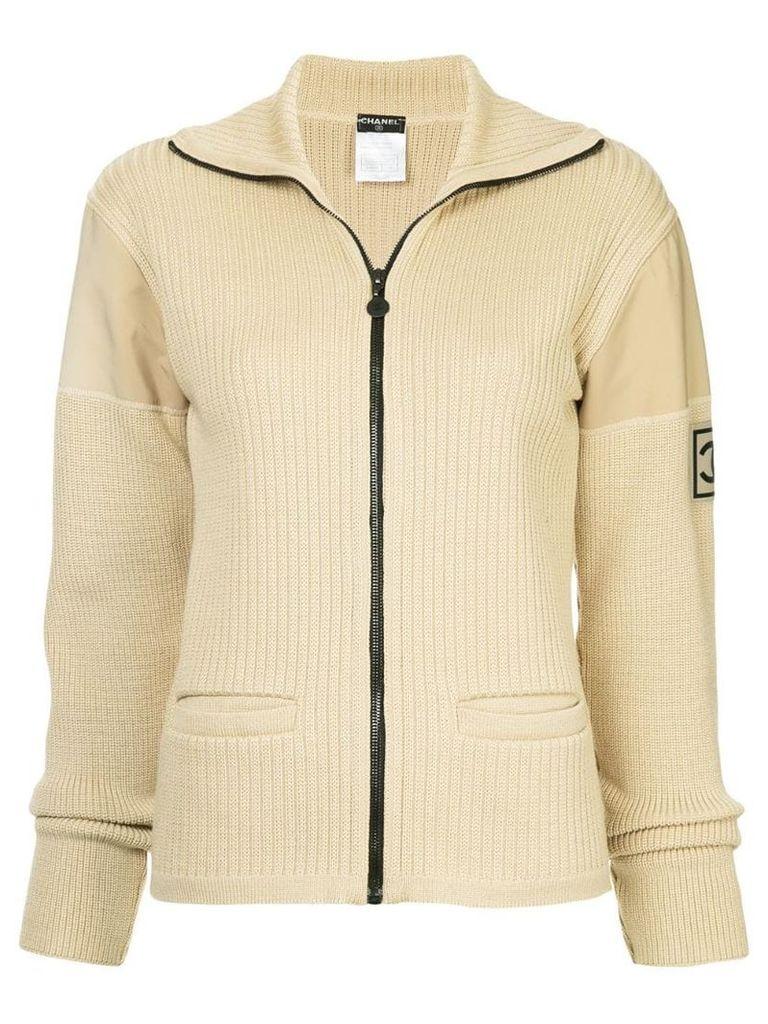 Chanel Vintage Sport Line knitted jacket - Brown