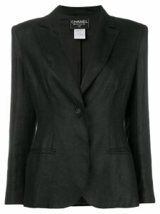 Chanel Pre-Owned single-button blazer - Black