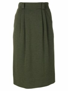 Jean Louis Scherrer Pre-Owned Scherrer skirt - Green