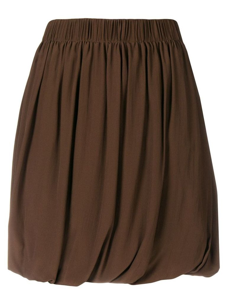 A.N.G.E.L.O. Vintage Cult pleated skirt - Brown