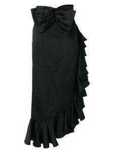 Valentino Pre-Owned ruffle trim skirt - Black