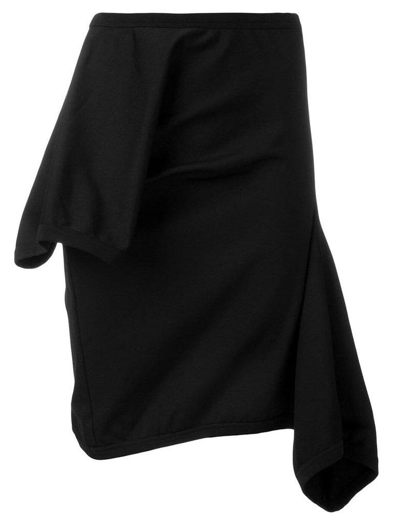 Comme Des Garçons Vintage asymmetric skirt - Black