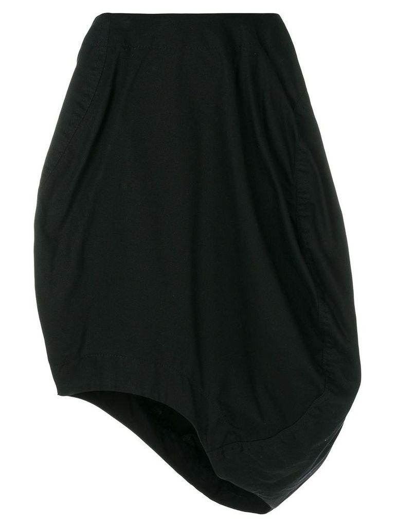 Comme Des Garçons Vintage asymmetric balloon skirt - Black