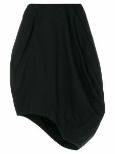 Comme Des Garçons Pre-Owned asymmetric balloon skirt - Black
