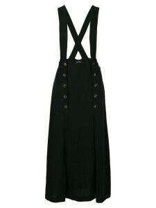 Comme Des Garçons Pre-Owned 1993 pinafore skirt - Black