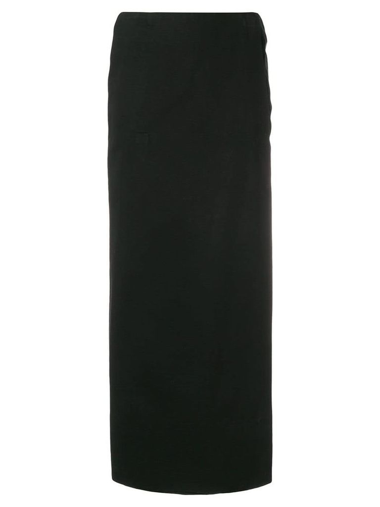 Stephen Sprouse Vintage Warp skirt - Black