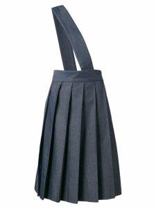 Comme Des Garçons Pre-Owned 1997 asymmetric braced skirt - Blue