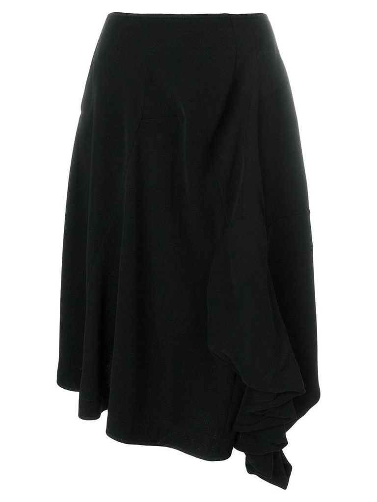 Comme Des Garçons Vintage deconstructed midi skirt - Black