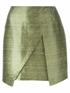 Romeo Gigli Pre-Owned mini wrap skirt - Green