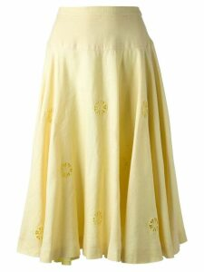 Céline Pre-Owned 80s skirt - Yellow