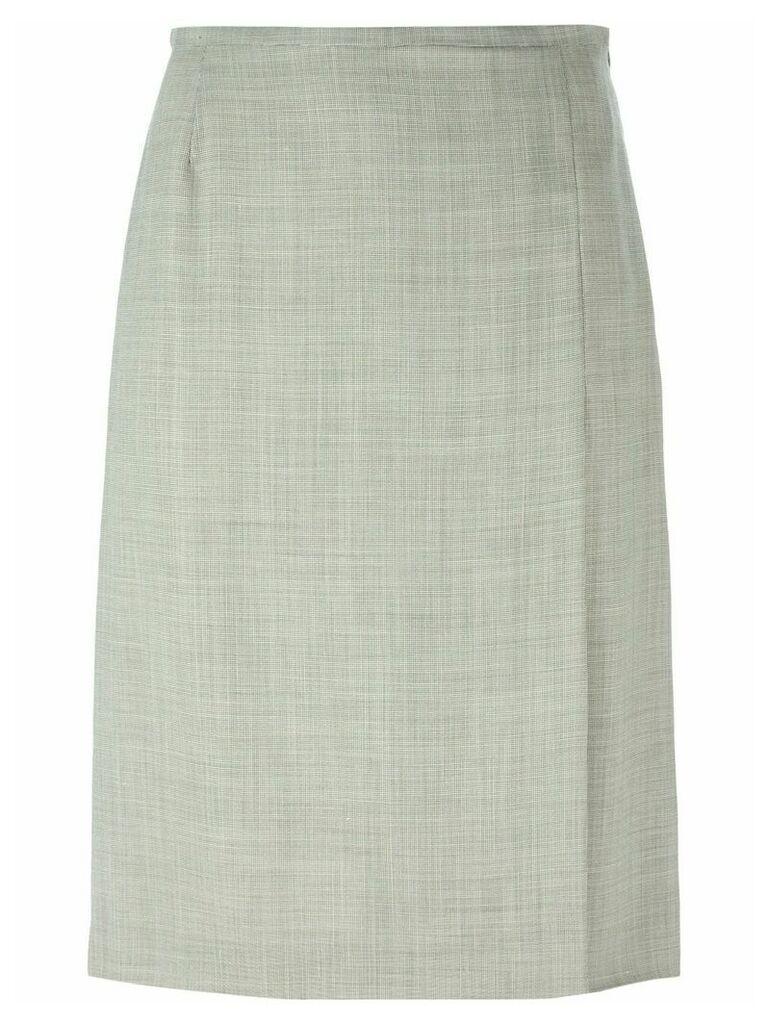 Jean Louis Scherrer Vintage a-line skirt - Grey