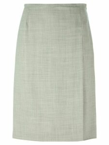 Jean Louis Scherrer Pre-Owned a-line skirt - Grey