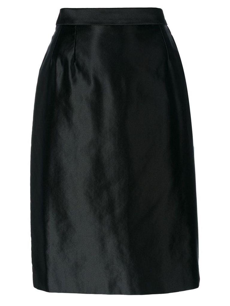 Yves Saint Laurent Pre-Owned pencil skirt - Black