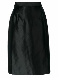 Yves Saint Laurent Pre-Owned pencil skirt - Black