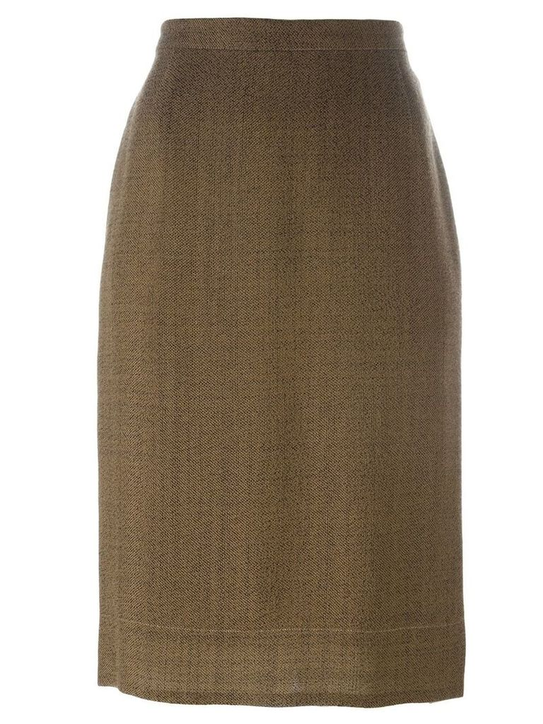 Prada Vintage classic pencil skirt - Brown