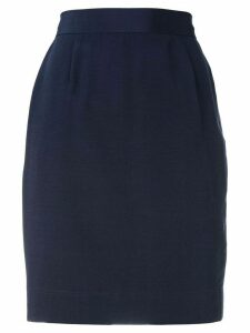 Moschino Pre-Owned high-waisted skirt - Blue