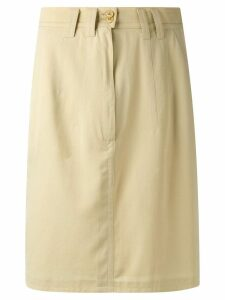Jil Sander Pre-Owned vintage skirt - Neutrals