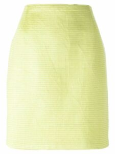 Gianfranco Ferre Pre-Owned straight skirt - Green
