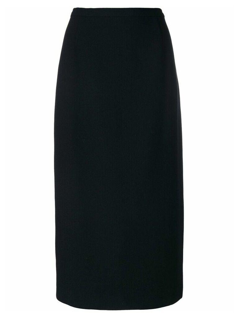 Emanuel Ungaro Vintage pencil skirt - Black