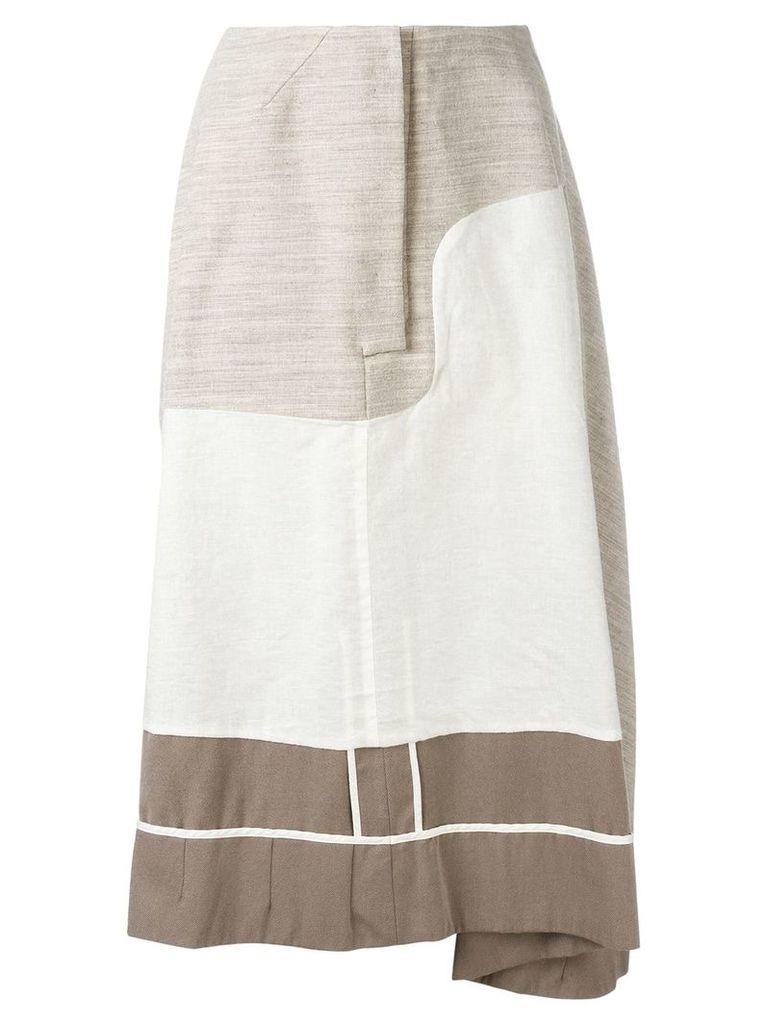 Comme Des Garçons Vintage reversible skirt - Neutrals