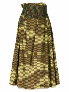 Comme Des Garçons Pre-Owned Longuette skirt - Green